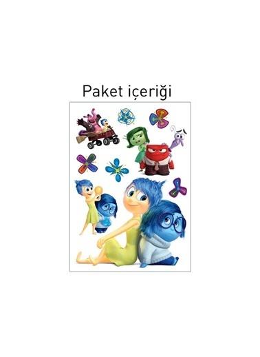 Disney Ters Yüz 48X68 Cm Duvar Sticker Renkli